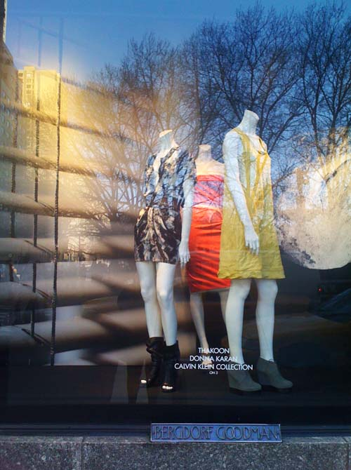 The Bergdorf Goodman's March Windows' Fashionistas
