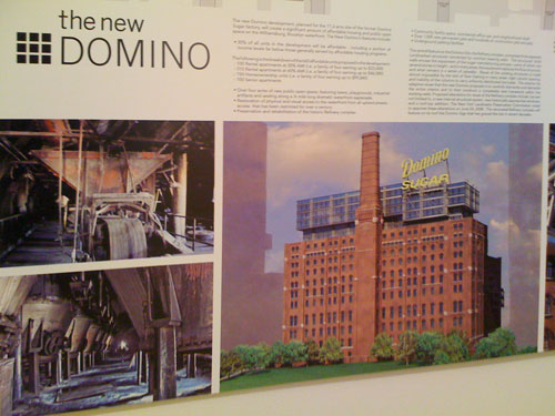 Williamburg Waterfront's old Domino Sugar Factory in plans to be converted to a mixed