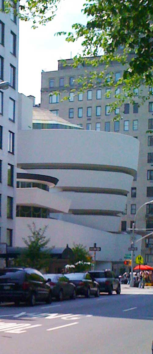 The Guggenheim unScaffolded