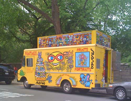 The Trend is Portable Store-Trucks, Why not Art?