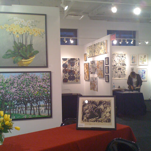Scenes from The Affordable Art Fair at 7 W 34th Street