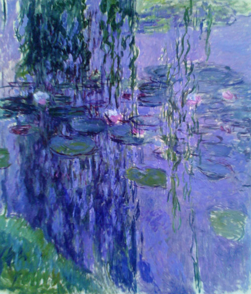 "Monet's Waterlilies  78"" x 70"""